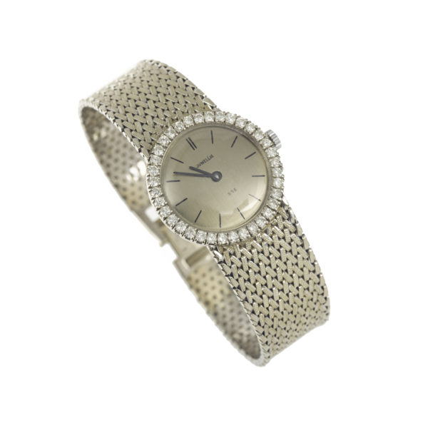 Montre 1960 Or gris diamants (8)