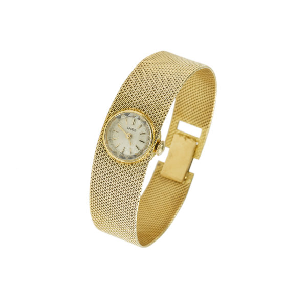 Montre Duward vintage Or jaune (3)