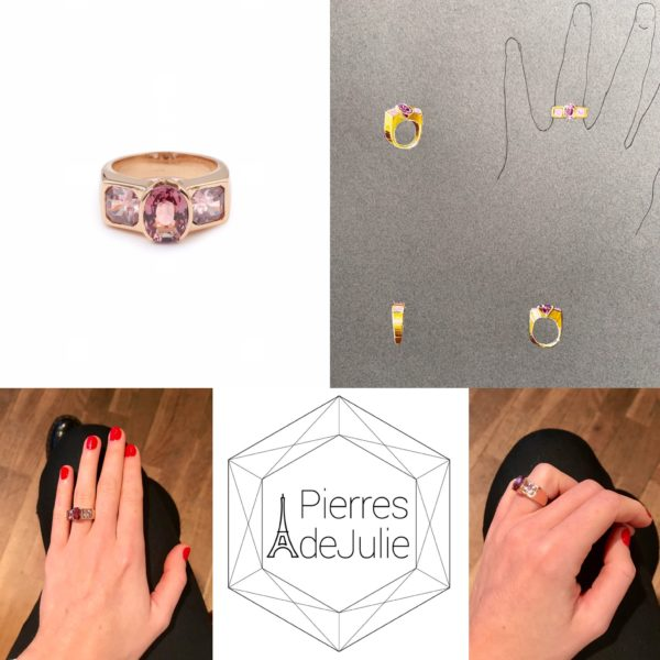 bague grenat zircon rose or rose 18k (3)