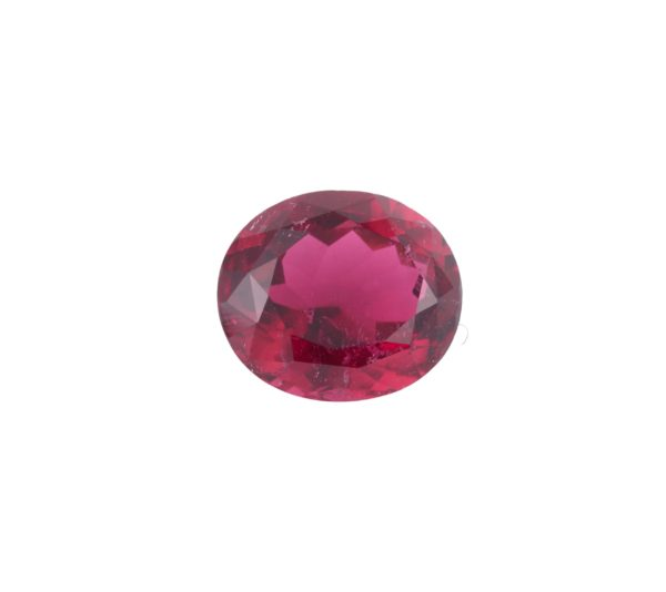 Rubellite ovale 5.71 Carats