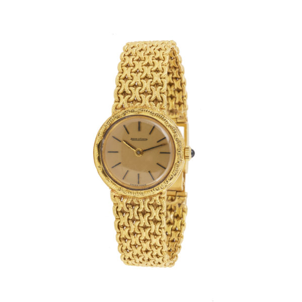 Jaeger Lecoultre Vintage 18 Carat Yellow Gold Watch
